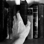 storybooks on shelf