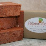 Spicy earth cold process soap bar with Moroccan clay for oily skin