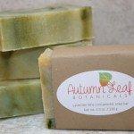 Lavender lime cold process soap bar