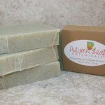 Fir and lavender soap with green zeolite clay