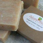 Gingerly lemon soap bar