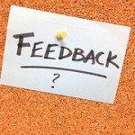 feedback sign