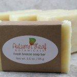 Fresh breeze hot process soap bar