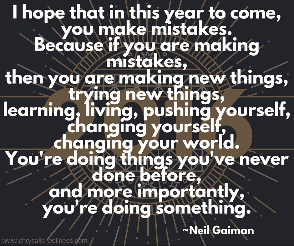2016 New Year wish
