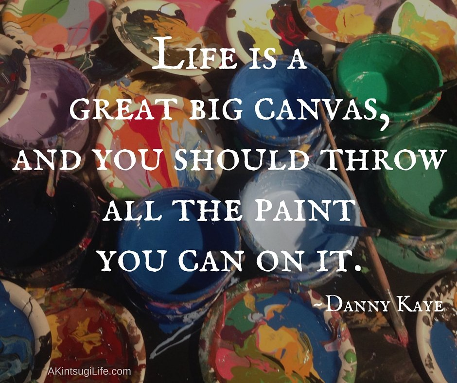 buckets of open paint