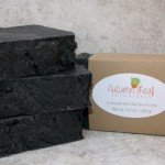 Charcoal and clay facial soap