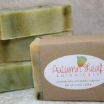 Lavender lime cold process soap bar