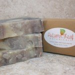 Fantasy indigo cold process soap bar