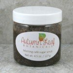 Morning cafe sugar scrub