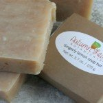 Gingerly lemon soap bar