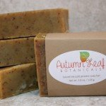 Spiced tea cold process soap bar