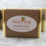 Minty fields soap bar