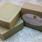 Floral bubbles cold process soap bar