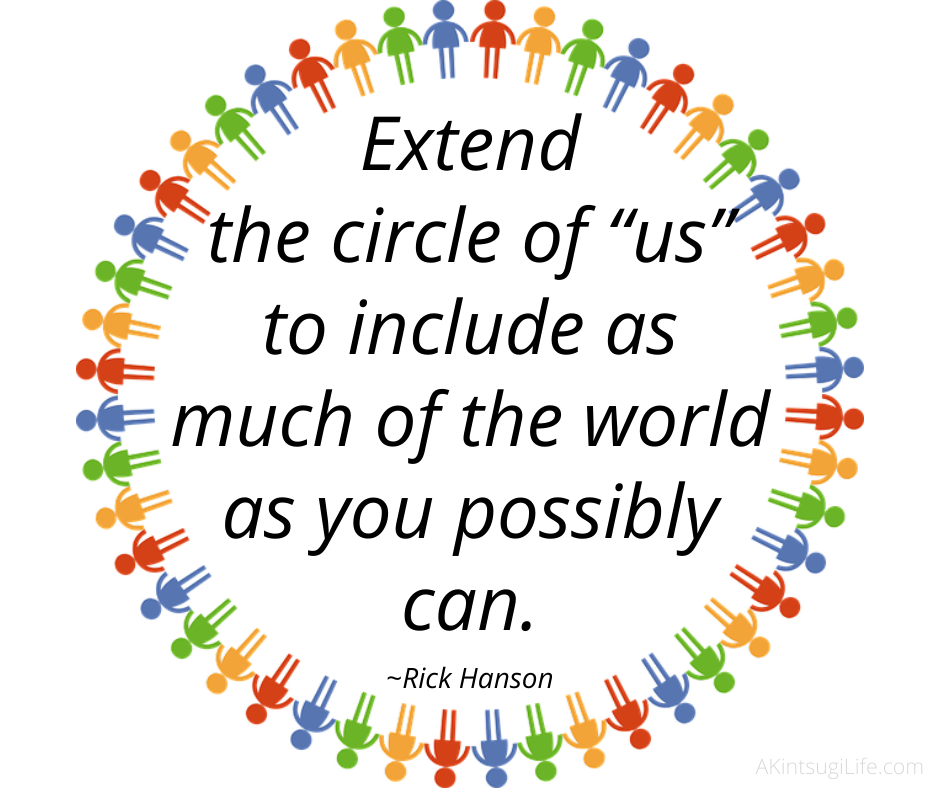 Extending the circle
