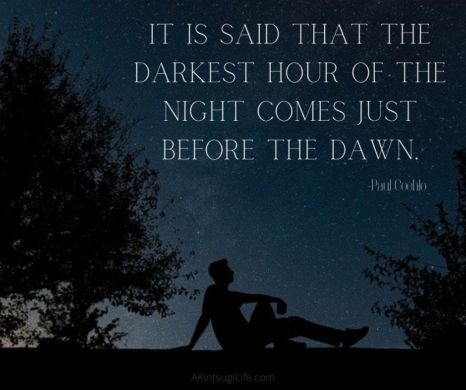 Dawn is coming