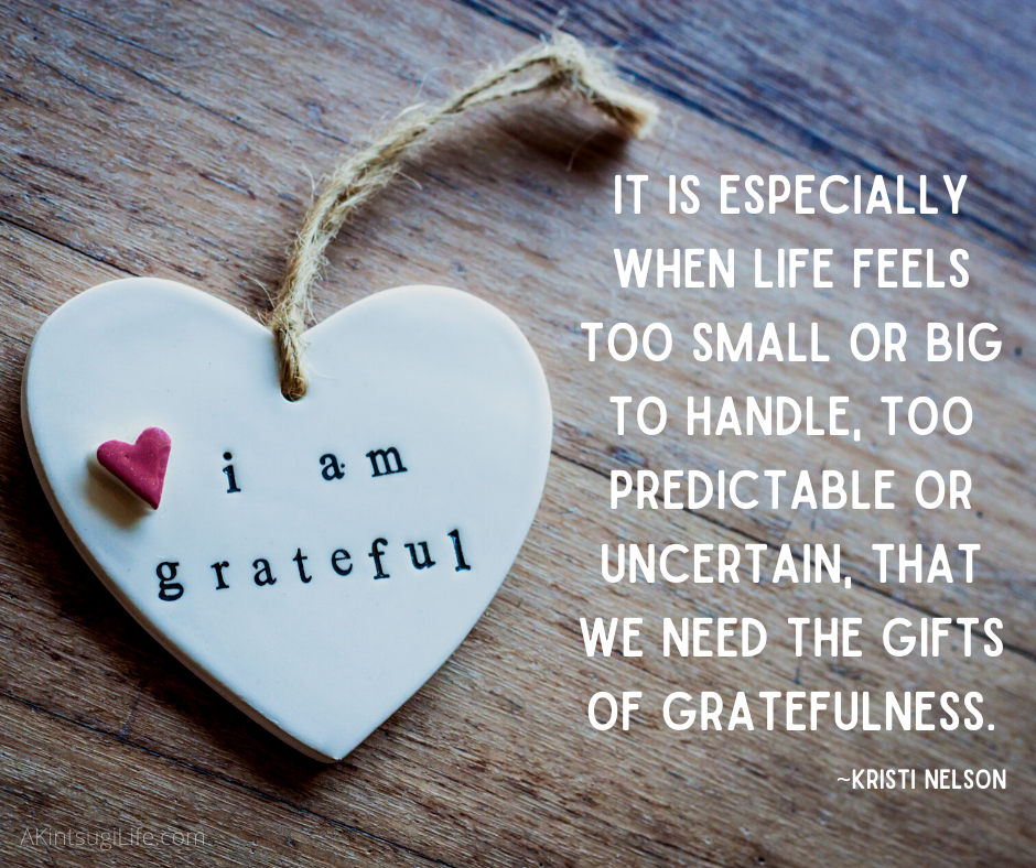 The helpful gifts of gratefulness