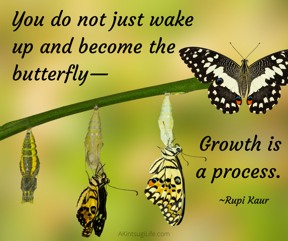 Growth is a process