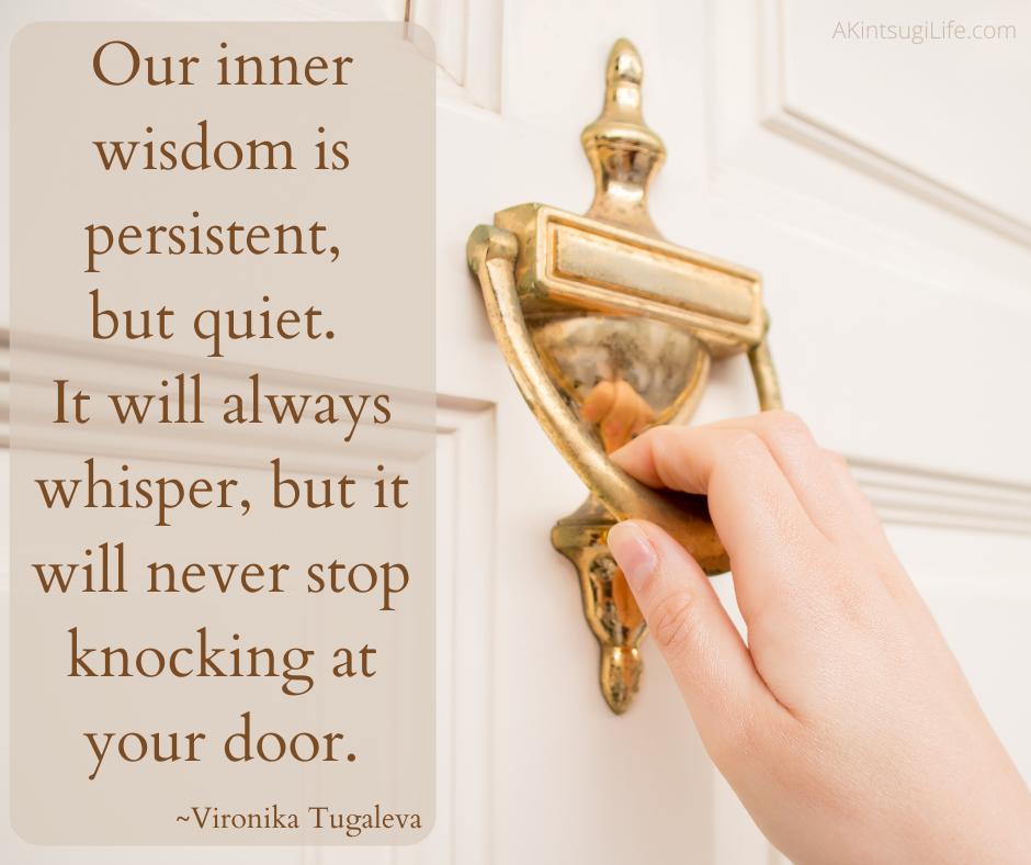 Our inner wisdom